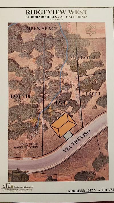 El Dorado Hills Residential Lots & Land For Sale: 1022 Via Treviso