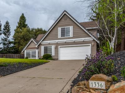 El Dorado Hills Single Family Home For Sale: 1336 Downieville Drive