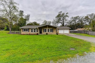 Granite Bay Single Family Home For Sale: 7600 Barton Road