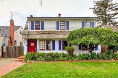 Sacramento Single Family Home For Sale: 3732 T Street
