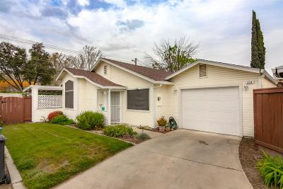 Turlock Single Family Home For Sale: 900 West Canal Drive #114