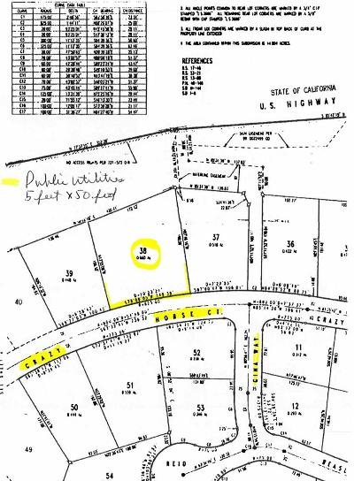 Cameron Park Residential Lots & Land For Sale: 512 Crazy Horse Court