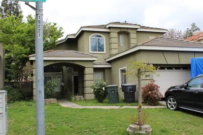 Modesto Single Family Home For Sale: 617 Waddell Way