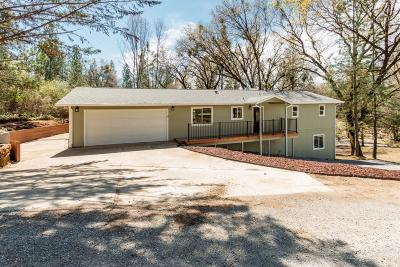 El Dorado County Single Family Home For Sale: 4545 Washboard Lane
