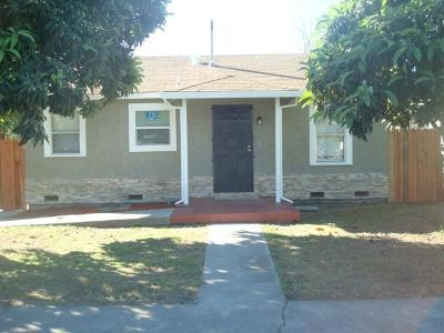 Stockton Single Family Home For Sale: 2436 East Sonora Street