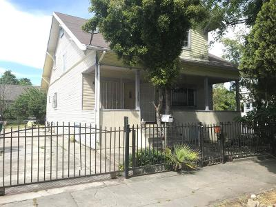 Stockton Single Family Home For Sale: 1345 East Washington