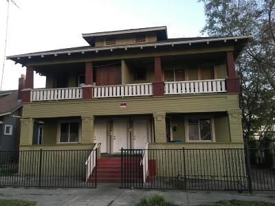 Stockton Multi Family Home For Sale: 518 East Flora Street