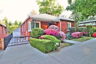 Sacramento Single Family Home For Sale: 2214 U Street