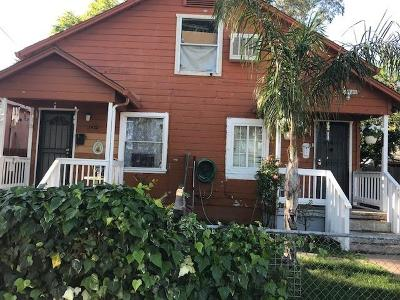 Stockton Single Family Home For Sale: 1933 Myrtle Street #1935