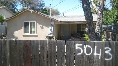 Stockton Single Family Home For Sale: 5043 East Carmellia Street