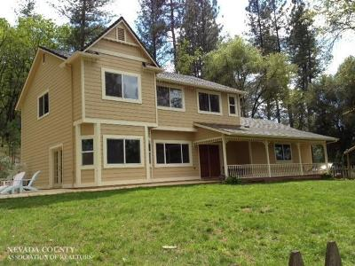 Grass Valley Single Family Home For Sale: 20740 Oxbow Way