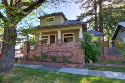 Single Family Home For Sale: 3020 Marshall Way