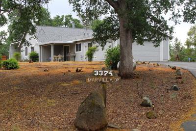 Mariposa County Single Family Home For Sale: 3374 Maravilla Drive