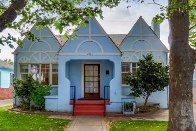 Sacramento Single Family Home For Sale: 2543 Freeport Boulevard