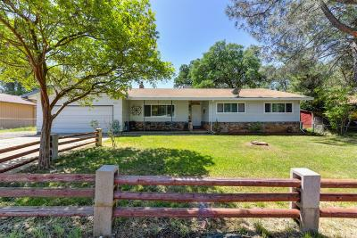 Rescue Single Family Home For Sale: 4366 Shorthorn Road
