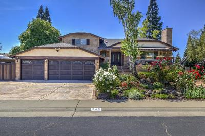 Roseville Single Family Home For Sale: 245 Firestone Drive