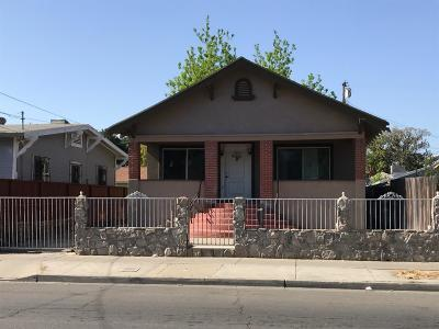 Stockton Single Family Home For Sale: 1327 East Park Street