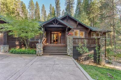 Nevada City Single Family Home For Sale: 13703 North Bloomfield Road