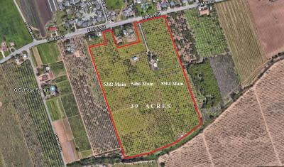 San Joaquin County Commercial Lots & Land For Sale: 5504 East Main Street