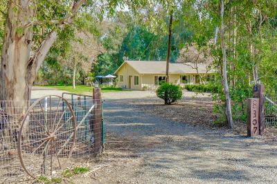 Yolo County Single Family Home For Sale: 8307 County Road 91b