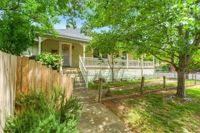 Folsom Single Family Home For Sale: 816 Natoma Street