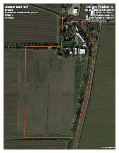 Yolo County Commercial Lots & Land For Sale: 48235 Sutter Road
