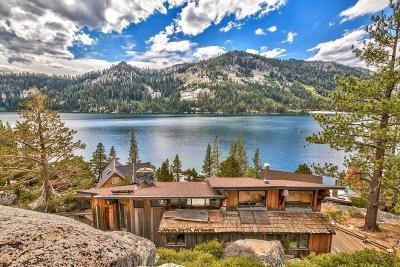 El Dorado County Single Family Home For Sale: 9901 Echo Lake Road