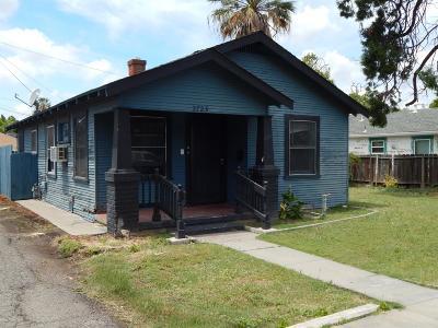 Stockton Single Family Home For Sale: 2723 North California Street