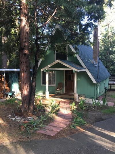 Grizzly Flats CA Single Family Home For Sale: $135,000