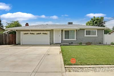 Stockton Single Family Home For Sale: 4656 Hibiscus Road