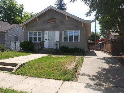 Sacramento Single Family Home For Sale: 4942 12th Avenue