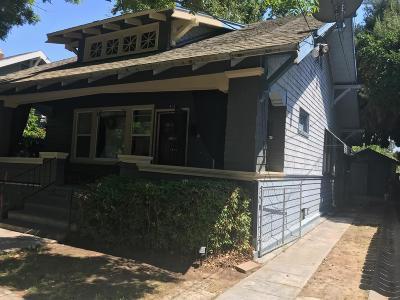 Stockton Multi Family Home For Sale: 414 West Vine