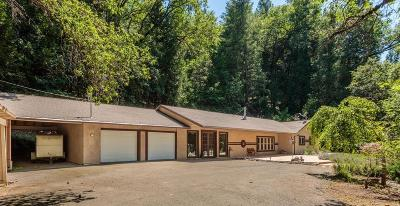 Placerville CA Single Family Home For Sale: $596,000