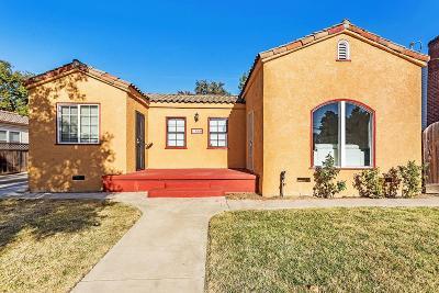 Stockton Single Family Home For Sale: 1360 Buena Vista Avenue