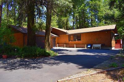 Volcano Single Family Home For Sale: 22960 Shake Ridge Road