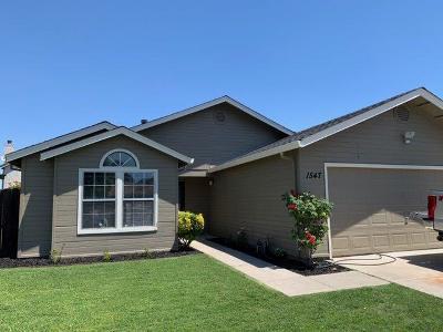 Stockton Single Family Home For Sale: 1547 Laguna Circle