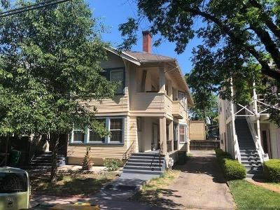 Stockton Multi Family Home For Sale: 215 East Vine Street