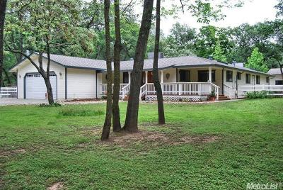 Placer County Single Family Home Pending Sale: 3897 Val Verde Road