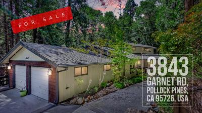 Pollock Pines Single Family Home For Sale: 3843 Garnet Road