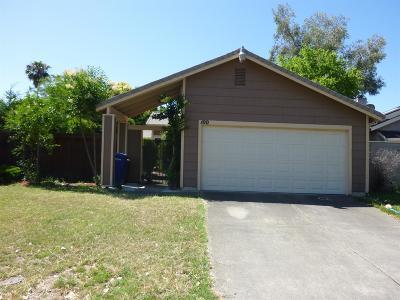 Sacramento Single Family Home For Sale: 100 Cedar Rock Circle