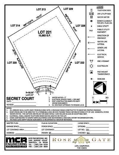 Lodi Residential Lots & Land For Sale: 68 Secret Court