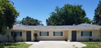 Stockton Multi Family Home For Sale: 3749 North Cherryland Avenue