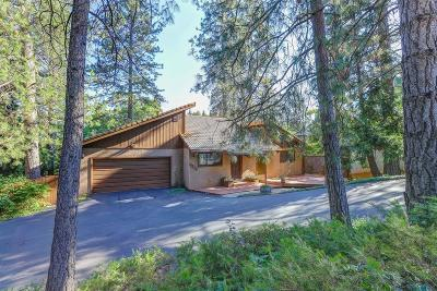 Nevada City Single Family Home For Sale: 11210 Via Vista