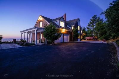 Santa Clara County Single Family Home For Sale: 15280 Blackberry Hill Road