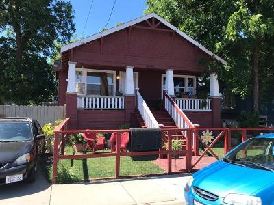 Sacramento Single Family Home For Sale: 4650 11th Ave