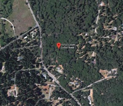 Grass Valley Residential Lots & Land For Sale: 15722 Lower Colfax Road