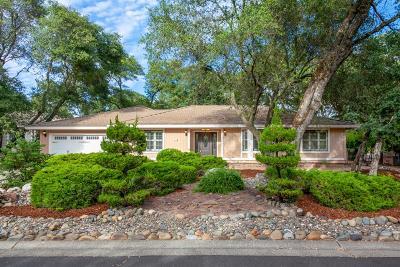 Rancho Murieta Single Family Home For Sale: 6521 Camino De Luna