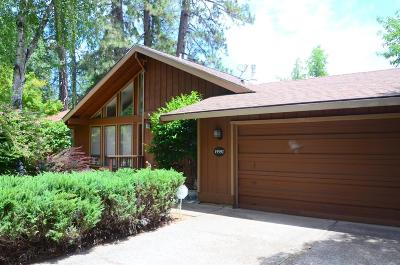 Grass Valley Single Family Home For Sale: 15592 Lorie Drive
