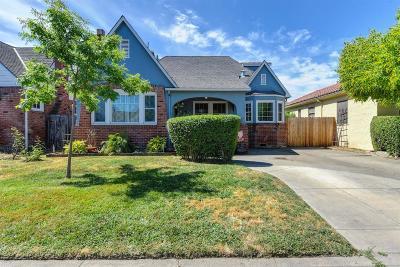 Sacramento Single Family Home For Sale: 5008 7th Avenue