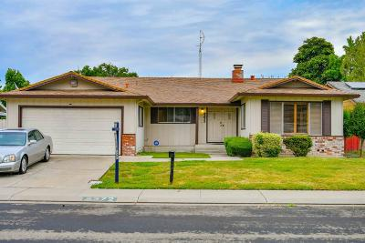 Stockton Single Family Home For Sale: 8372 Norfolk Way